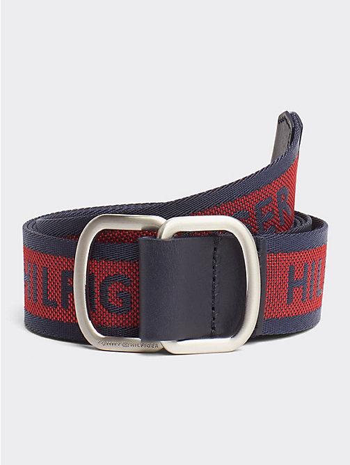 ad32f5dc263 TOMMY HILFIGERD-Ring Buckle Logo Belt