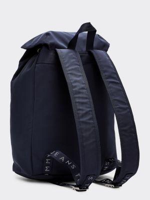 blue tommy hilfiger backpack