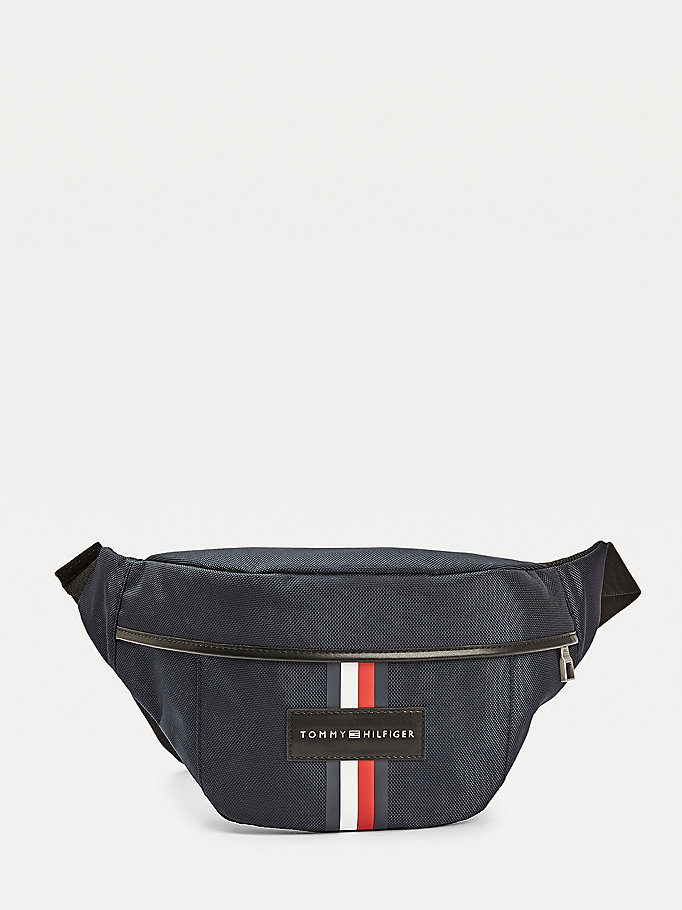 blue uptown crossover bag for men tommy hilfiger