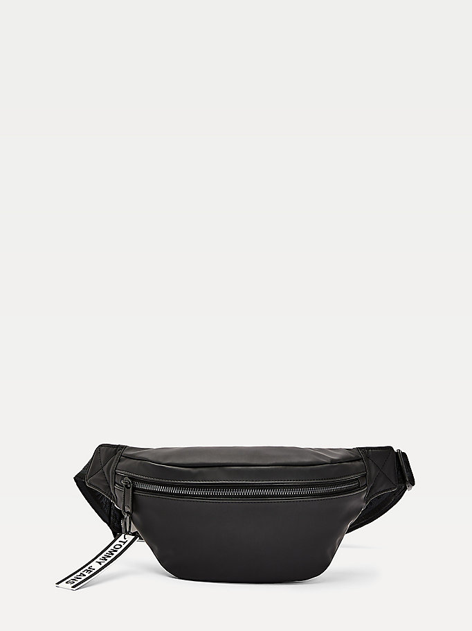 black logo tape bumbag for men tommy jeans