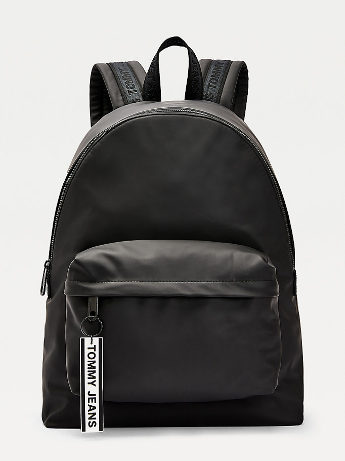 black logo tape backpack for men tommy jeans