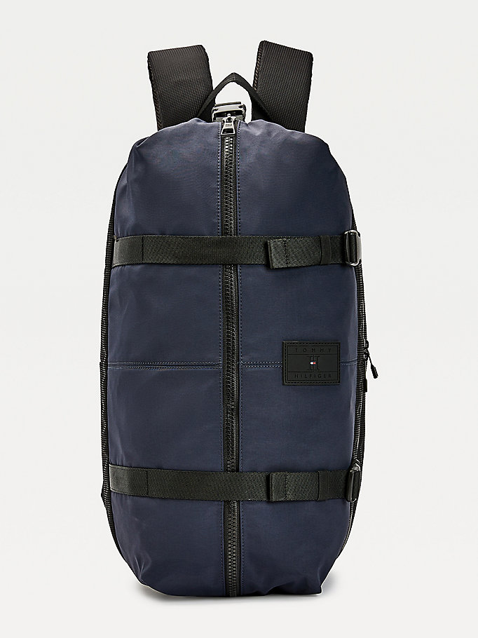 blue th tech nylon backpack for men tommy hilfiger
