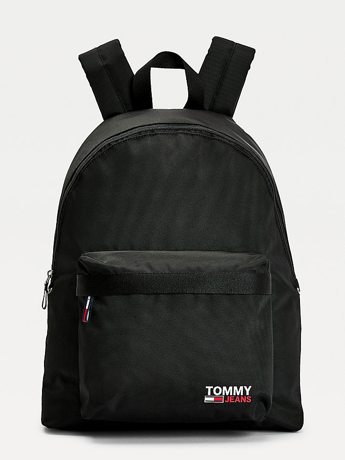 black campus dome backpack for men tommy jeans