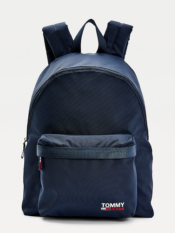 blue campus dome backpack for men tommy jeans