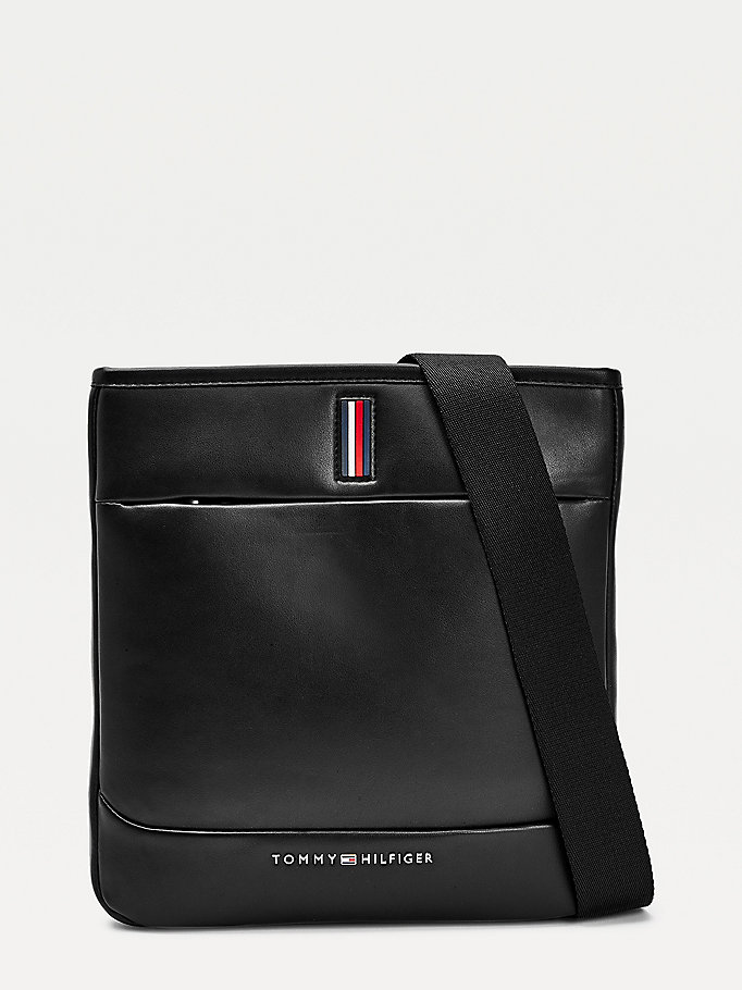black th metro crossover bag for men tommy hilfiger