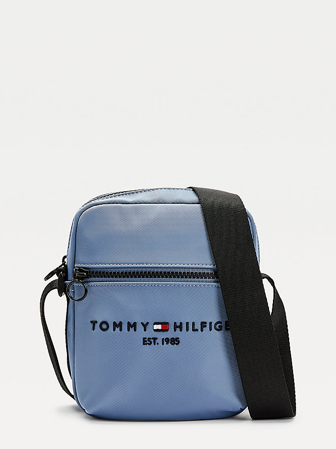 blau th established kleine reportertasche für herren - tommy hilfiger