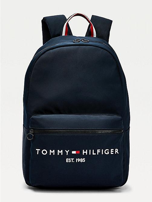 Tommy Hilfiger Sac /à dos en polyur/éthane pour homme