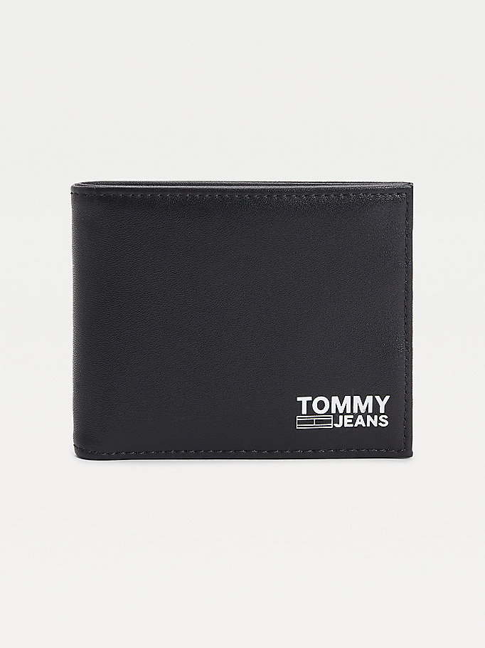 black logo flag card wallet for men tommy jeans