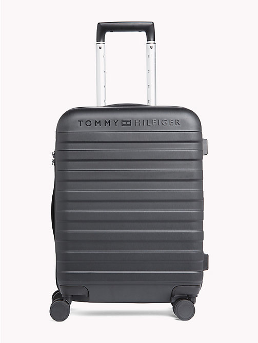 TOMMY HILFIGER Tommy Hard Shell Suitcase - BLACK - TOMMY HILFIGER Travel Bags - main image