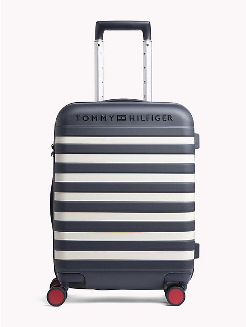 TOMMY HILFIGER Luxury Hard Suitcase - TOMMY NAVY STRIPE - TOMMY HILFIGER Bags & Accessories - main image