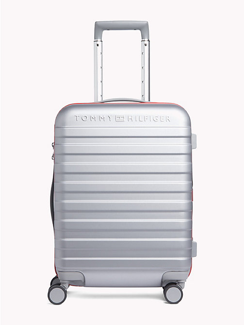 TOMMY HILFIGER Luxury Hard Suitcase - SILVER - TOMMY HILFIGER Suitcases - main image