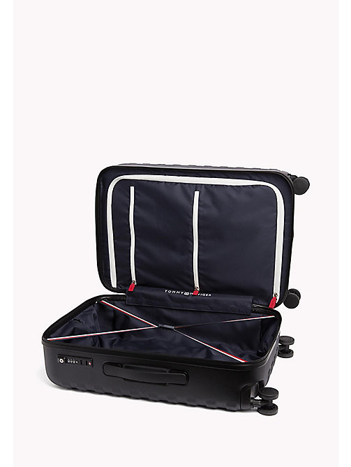 TOMMY HILFIGER Rolling Hard Shell Suitcase - BLACK - TOMMY HILFIGER Travel Bags - detail image 1
