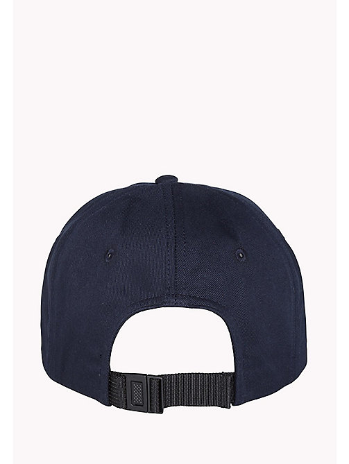TOMMY JEANS Cotton Twill Logo Baseball Cap - SKY CAPTAIN - TOMMY JEANS Hats, Gloves & Scarves - detail image 1