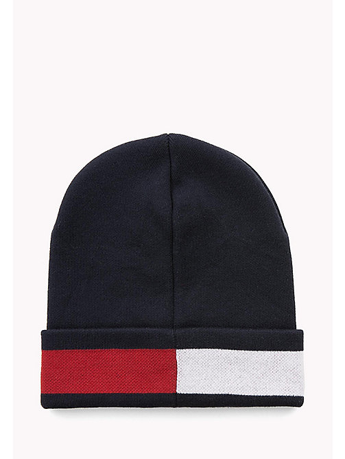 TOMMY JEANS Logo Beanie - SKY CAPTAIN - TOMMY JEANS Hats, Gloves & Scarves - detail image 1