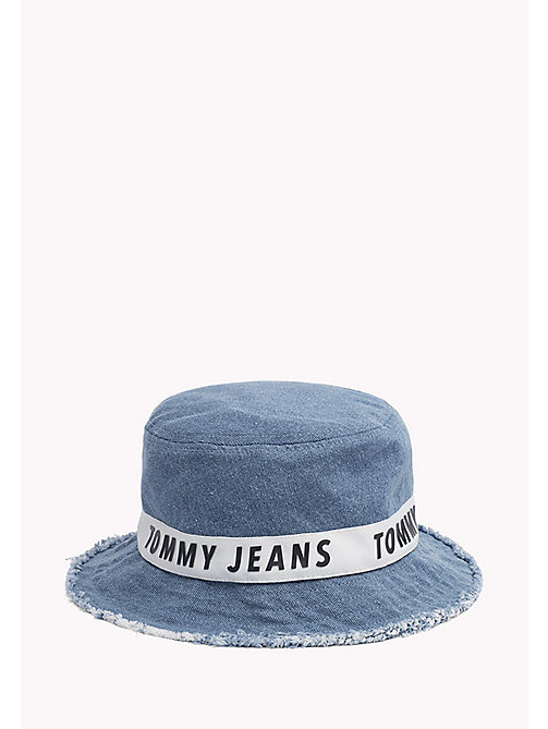 TOMMY JEANS Denim Bucket Hat - DENIM - TOMMY JEANS Tommy Jeans Accessories - main image