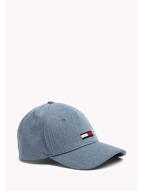 TOMMY JEANS Denim Baseball Cap - DENIM - TOMMY JEANS Tommy Jeans Accessories - main image