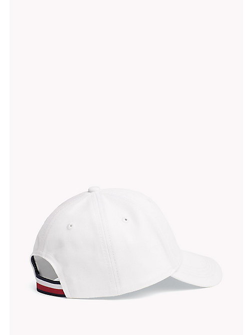 TOMMY HILFIGER Cotton Flag Cap - BRIGHT WHITE - TOMMY HILFIGER Shoes & Accessories - detail image 1
