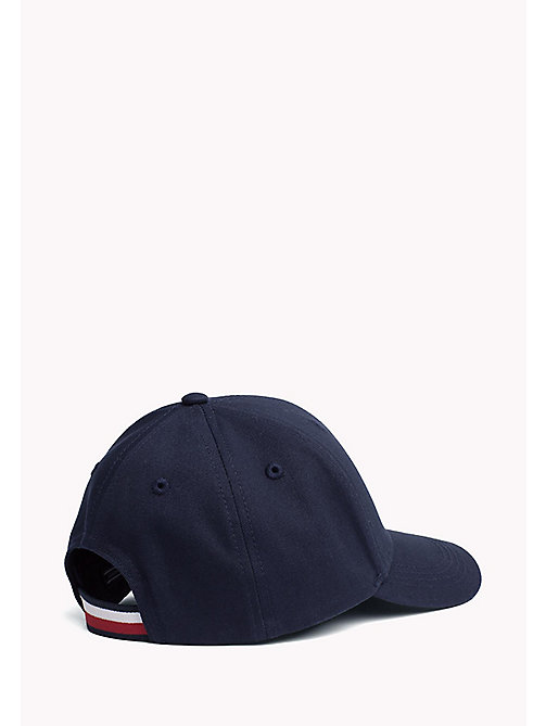 TOMMY HILFIGER Cotton Flag Cap - TOMMY NAVY - TOMMY HILFIGER Accessories - detail image 1