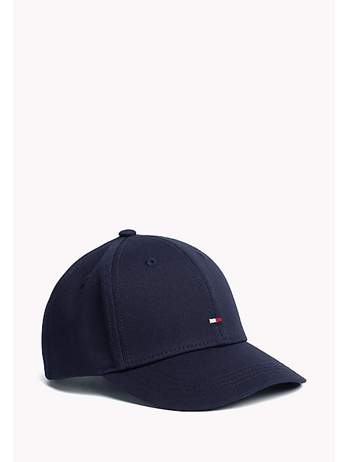 TOMMY HILFIGER Cotton Flag Cap - TOMMY NAVY - TOMMY HILFIGER Accessories - main image