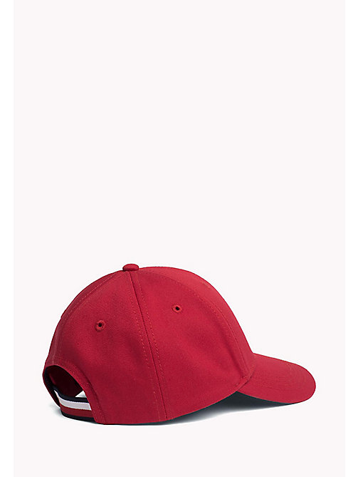 TOMMY HILFIGER Kids Cotton Flag Cap - TOMMY RED - TOMMY HILFIGER Boys - detail image 1