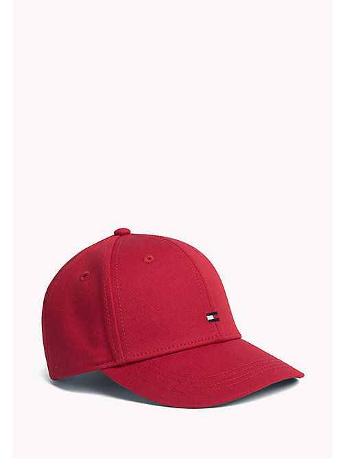 TOMMY HILFIGER Cotton Flag Cap - TOMMY RED - TOMMY HILFIGER Accessoires - main image