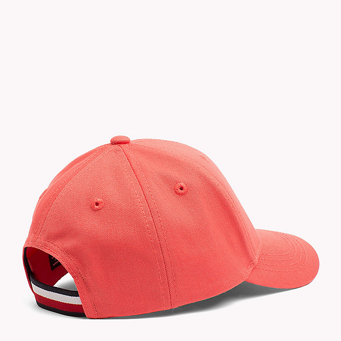 TOMMY HILFIGER Cotton Flag Cap - TOMMY RED - TOMMY HILFIGER Bags & Accessories - detail image 1