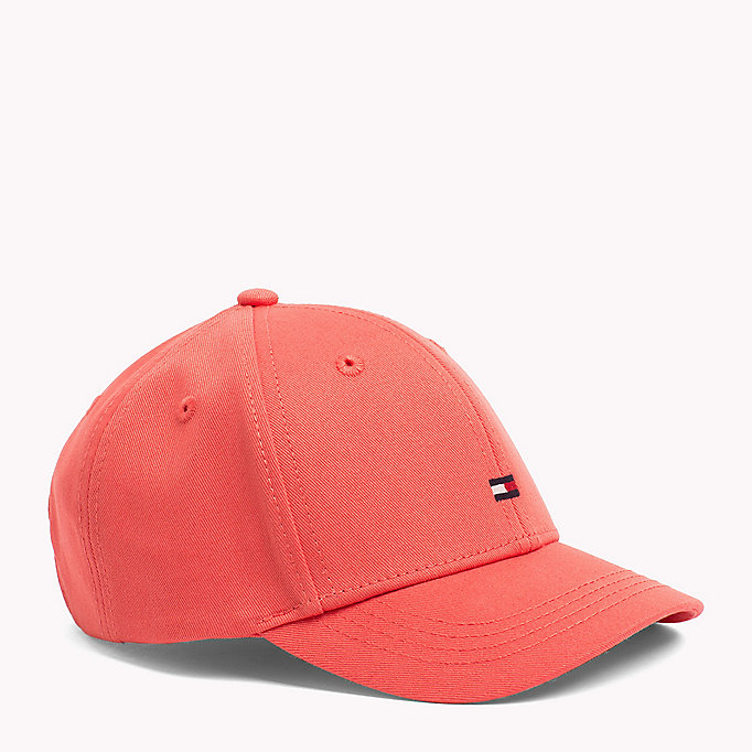 TOMMY HILFIGER Kids Cotton Flag Cap - TOMMY RED - TOMMY HILFIGER Women - main image