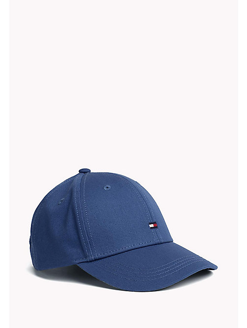 TOMMY HILFIGER Cotton Flag Cap - LIMONGOES - TOMMY HILFIGER Accessories - main image