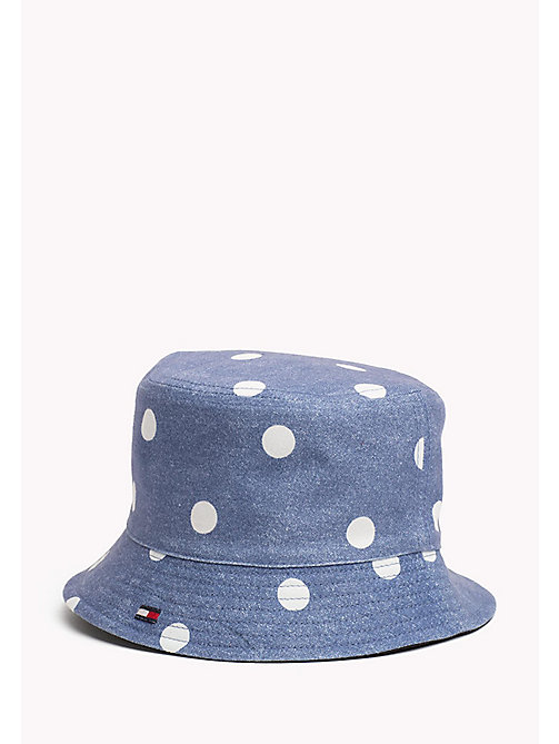 TOMMY HILFIGER Kids' Reversible Bucket Hat - POLKA DOT PRINT - TOMMY HILFIGER Shoes & Accessories - detail image 1
