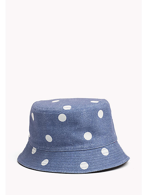 TOMMY HILFIGER Kids' Reversible Bucket Hat - POLKA DOT PRINT - TOMMY HILFIGER Shoes & Accessories - main image