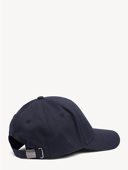 TOMMY JEANS Flag Front Baseball Cap - MIDNIGHT - TOMMY JEANS Tommy Jeans Shoes & Accessories - detail image 1
