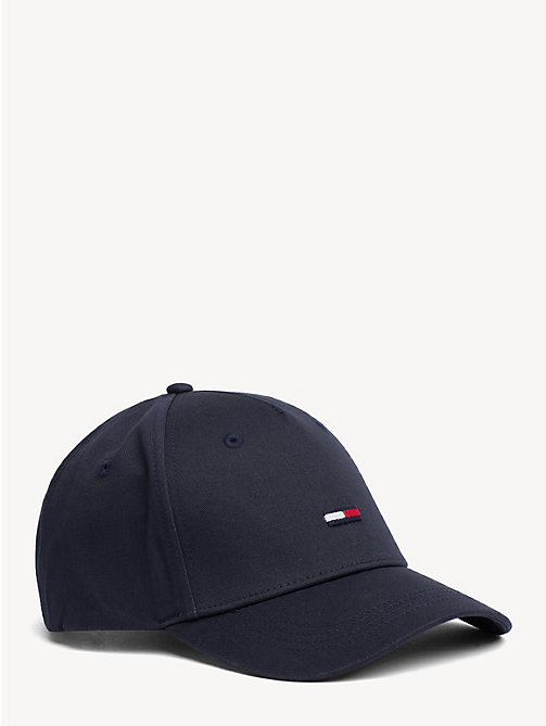 TOMMY JEANS Flag Front Baseball Cap - MIDNIGHT - TOMMY JEANS VACATION - main image