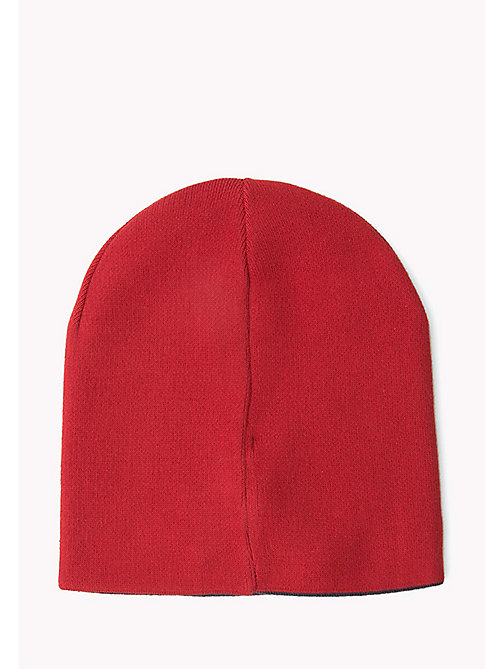 TOMMY JEANS Reversible Beanie - SALSA- PEACOAT - TOMMY JEANS Hats, Gloves & Scarves - detail image 1