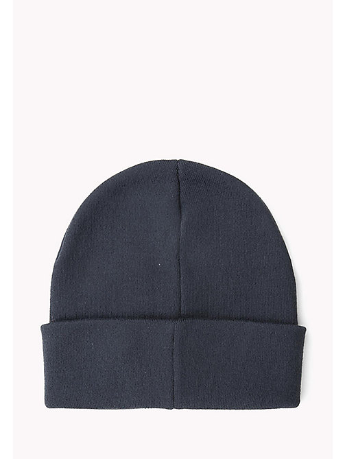 TOMMY JEANS Flag Beanie - PEACOAT - TOMMY JEANS Hats & Scarves - detail image 1