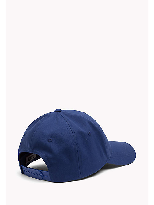 TOMMY JEANS Cotton Flag Cap - NAUTICAL BLUE - TOMMY JEANS Tommy Jeans Shoes & Accessories - detail image 1