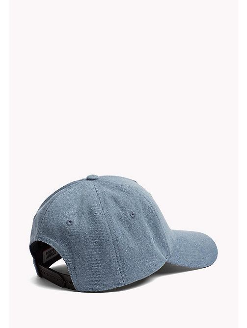 TOMMY JEANS Flag Embroidery Denim Cap - DENIM - TOMMY JEANS VACATION FOR HER - detail image 1