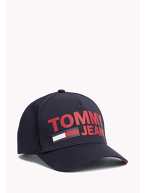 TOMMY JEANS Tommy Jeans Logo Cap - TOMMY NAVY - TOMMY JEANS Bags & Accessories - main image