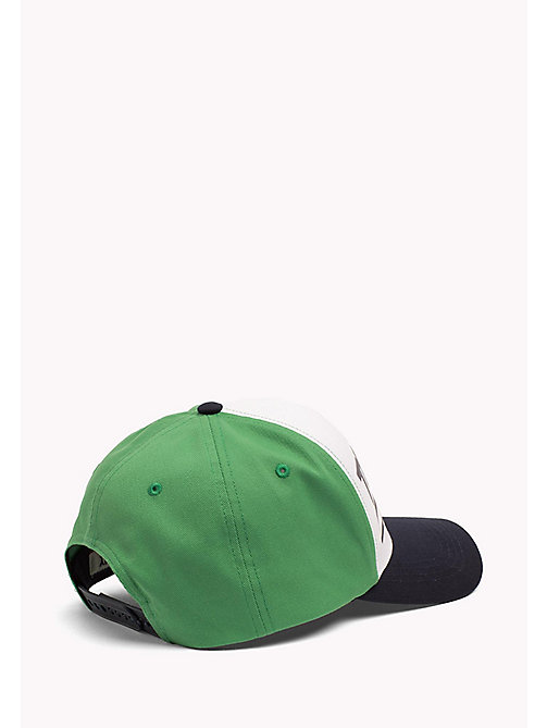 TOMMY JEANS Tommy Jeans Logo Cap - GREEN/WHITE - TOMMY JEANS Tommy Jeans Shoes & Accessories - detail image 1
