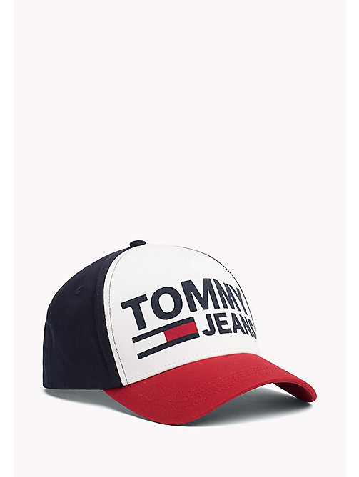 TOMMY JEANS Colour-Blocked Tommy Jeans Cap - CORPORATE - TOMMY JEANS Tommy Jeans Shoes & Accessories - main image