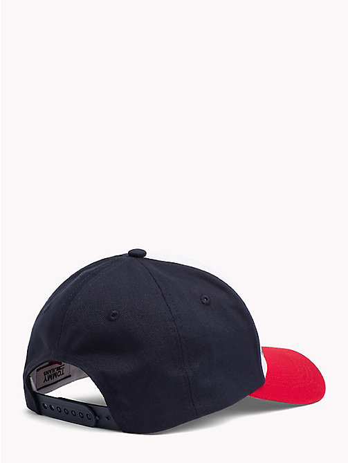 TOMMY JEANS Tommy Jeans Flocked Cotton Twill Cap - CORPORATE - TOMMY JEANS Tommy Jeans Shoes & Accessories - detail image 1