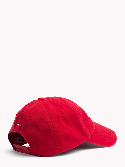 TOMMY JEANS Tommy Jeans Logo Baseball Cap - TOMMY RED - TOMMY JEANS Shoes & Accessories - detail image 1