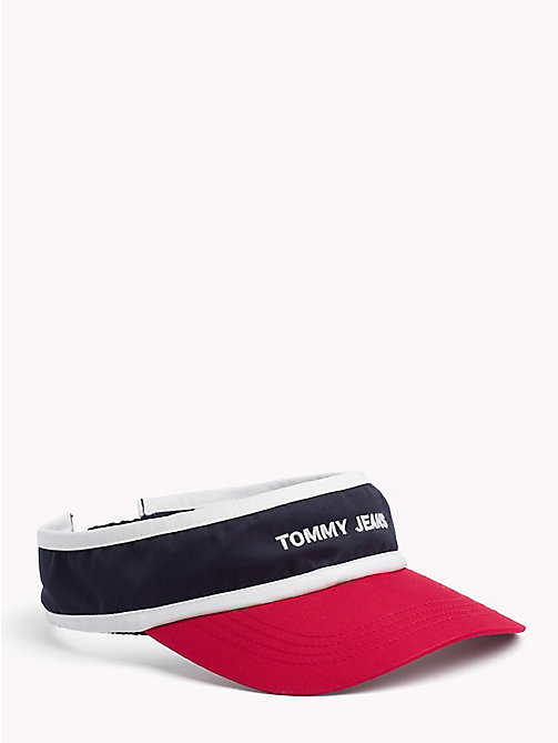 TOMMY JEANS Tommy Jeans Logo Visor - CORPORATE - TOMMY JEANS Bags & Accessories - main image