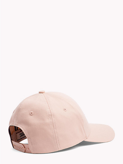 TOMMY JEANS Logo Baseball Cap - ROSE CLOUD - TOMMY JEANS Hats - detail image 1