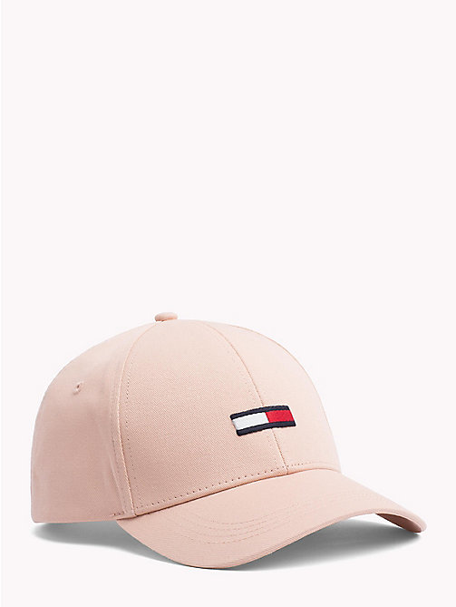 TOMMY JEANS Logo Baseball Cap - ROSE CLOUD - TOMMY JEANS Hats - main image