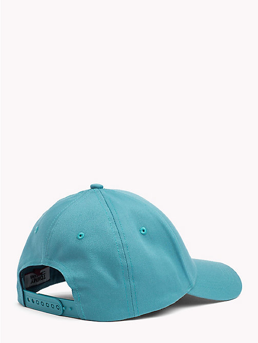 TOMMY JEANS Flag Baseball Cap - GREEN BLUE SLATE - TOMMY JEANS VACATION FOR HER - detail image 1