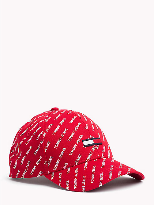 TOMMY JEANS Flag Baseball Cap - REPEAT LOGO - TOMMY JEANS Festival Season - main image