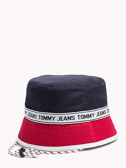 TOMMY JEANS Logo Bucket Hat - CORPORATE - TOMMY JEANS Festival Season - detail image 1