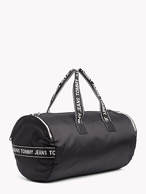 TOMMY JEANS Tommy Jeans Logo Duffle Bag - BLACK - TOMMY JEANS Shoes & Accessories - detail image 1