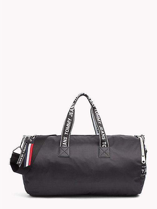 TOMMY JEANS Tommy Jeans Logo Duffle Bag - BLACK - TOMMY JEANS Bags & Accessories - main image