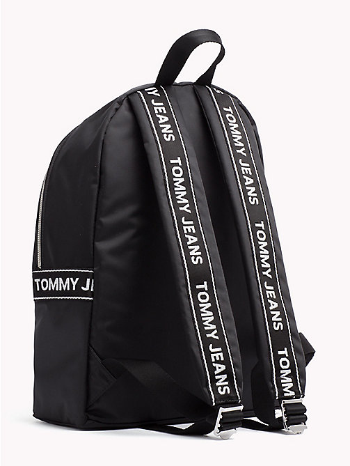 TOMMY JEANS Tommy Jeans Logo Backpack - BLACK - TOMMY JEANS Festivals Season - detail image 1